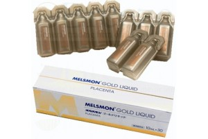 MELSMON Placenta Gold Liquid 10 ml X 30 pcs. For Drinking