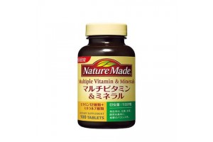 Japanese Multi Vitamins and Minerals - 100 tabs