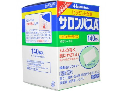 Anesthetic plaster Salonpas