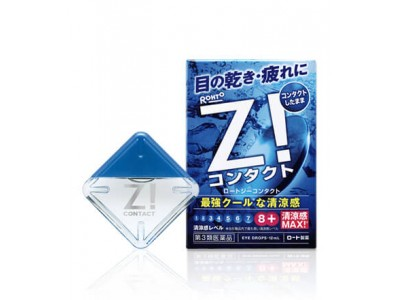 "Rohto Z ""Liquid Contacts"" Supermint Eyedrops"