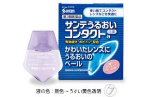 Eyedrops for contact lenses Sante Uruoi Contact for eye moisturizing