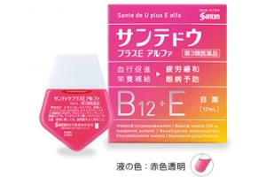 Moisturizing Eye Drops Sante de U plus E alfa