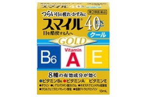 Smile 40 EX gold cool 13 ml - Cool effect, Triple Eye Vitamins