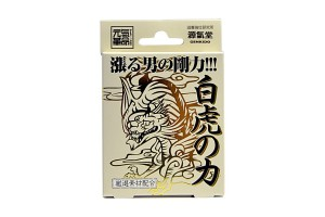 White Tiger - 4 Tab. Japanese Viagra (Potency, men's health, virility, erectile dysfunction, sex, vigor)