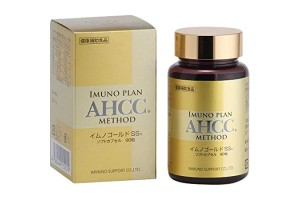 AHCC 90 tablets 300 mg Immuno modulator.