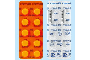 Ciproxan tablets 200 mg (antibiotics, Ciloxan, Cipro, Neofloxin)