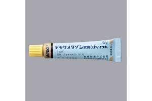Dexamethasone ointment 0.1% (corticosteroid)