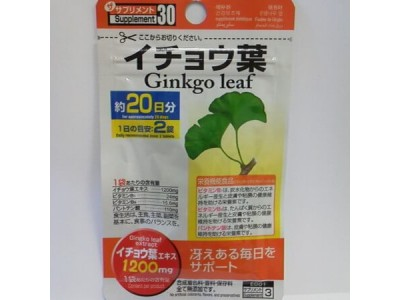 Ginkgo Extract Express  - for 3 weeks, cellulite treatment