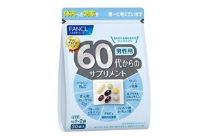 Vitamins for 60 year old Men by Fancl - 1 month