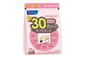 Vitamins for 30 year old women Fancl - 1 month