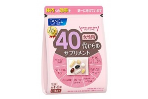 Vitamins for 40-year-old women Fancl - for 1 month