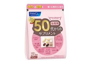 Vitamins for 50-year-old women Fancl - for 1 month