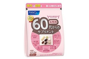 Vitamins for 60 year old women Fancl - 1 month