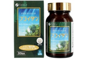 Natural Fucoidan for 1 month from Japan 300 mg.  Anti-oncology. Anti-cancer