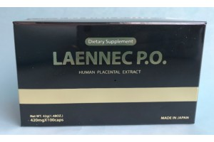 Laennec Po placenta Supplement 100 Capsules
