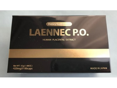 Laenec PO Placenta 100 (Laenec po, laennec po) Extract for Beauty and skin tightening