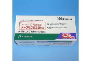 Metgluco 250 mg from Japan tablets (type 2 diabetes)