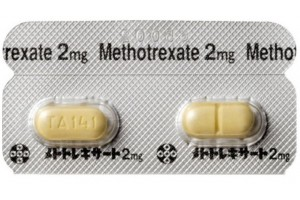Methotrexate 100 tablets X 2 mg for arthritis, arthrosis, Crohn's disease.