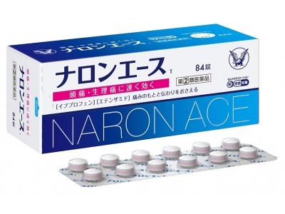 Naron Ace Migraine Killer. Two-step headache protection.