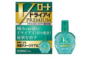 V Rohto Dry Eye Premium Eye Drops from Japan
