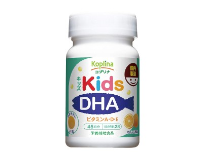 Vitamins A, D, E with DHA and EPA for children