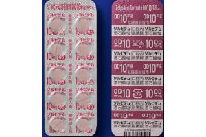 Zolpidem tartrate OD tablets 10 mg for insomnia (Ambien)